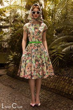 Sukienka APRIL Midi Stefani - LiviaClue - Sukienki koktajlowe