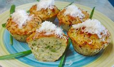 Cukkinis-burgonyás röszti muffin Baked Potato, Potatoes, Baking, Ethnic Recipes, Food, Potato, Bakken, Essen, Meals