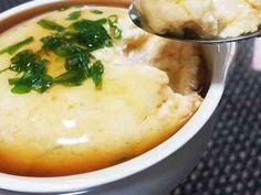 レンジで!卵と豆腐のふわふわ蒸し♡の画像