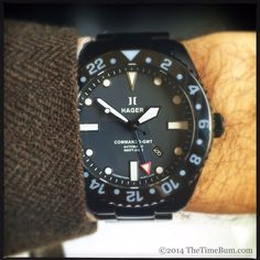 Hager Professional Series GMT Traveler