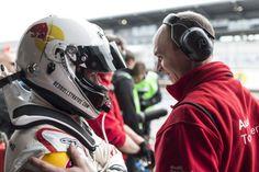 Qualirennen Nürburgring: Benjamin Fidorra wünscht mir Glück / Qualification race Nürburgring: Benjamin Fidorra says break a leg