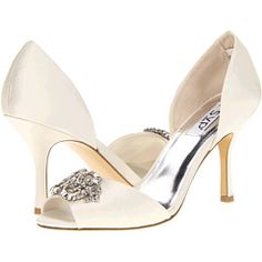You better run for a pedicure because today I am featuring Splurge vs Steal Peep Toes! Wedding shoes in silver and cream colors. Colorful Wedding Shoes, White Bridal Shoes, Purple Wedding Shoes, Unique Wedding Shoes, Wedding Accessories, Embellished Heels, Cream Wedding, Bride Shoes, Wedding Bridesmaids