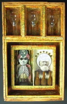 Assemblage Show Sept. 2011 - Greg's Mixed Media Gallery