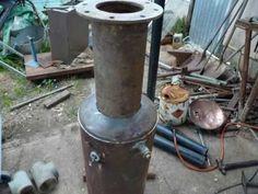 wood gas gasifier test D.I.Y