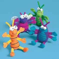 """Bugs bugs bugs ... we have these to """"shoot"""" at the kids at the end of VBS.  woo hoo!"""