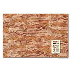 Bacon Gift Wrap - Archie McPhee & Co.