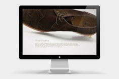 Clarks Modern Style by Seah Doyle, via Behance