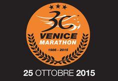 Logo del trentennale di Venicemarathon