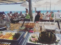 Saint Tropez | Lunch with a view | Dans la peau de #brigitteBardot #sainttropez…