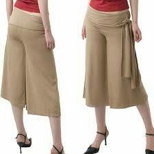 Goucho tan pants