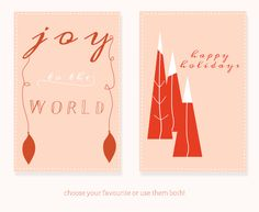 Free Printables, Free Greeting Cards, Free Printable Christmas Cards by Twiggs Designs