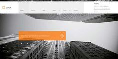 20 MODERN ARCHITECTURE WEBSITE TEMPLATES – WANT EXCELLENCE