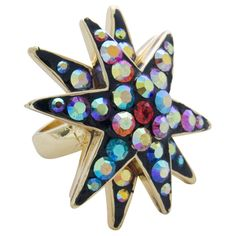Crystal #Star Ring Was £28.00 Now£14.00 You Save: 50%