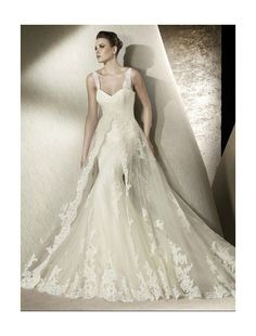 Tulle Sweetheart Strapless Neckline Mermaid Wedding Dress with Asymmetrical Ruffled Trim Accents Bodice