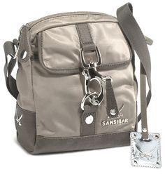 SANSIBAR Bags Tasche / Handtasche/ Schultertasche ...
