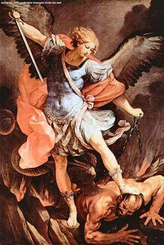 Guido Reni, San Michele Arcangelo (1635), Roma, chiesa di Santa Maria della Concezione (dei cappuccini)