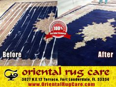 Oriental Rug Cleaning Experts in Wellington