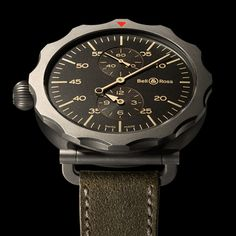 #Timeframes ... The Bell and Ross WW2 Bomber Regulateur