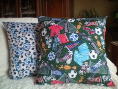 1 Novelty Pillow  Sports  Soccer Theme  18 x by NoveltyPillows4All, $24.95
