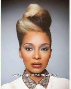 Oh Gorm!!! Ah luv it!!! Rose is Naturally Glam!   Curly Nikki   Natural Hair Styles and Natural Hair Care