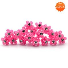 Rosa Chinensis Jacq Flower Hairpin U Shape Shimmer Rhinestone Hair Pin Jewelry for WeddingBride Bridesmaid Hair Accessories Hair Fork Clip 20 PcsLot FUSCHIA *** More info could be found at the image url. (This is an affiliate link) Bridesmaid Hair Accessories, Wedding Accessories, Wedding Jewelry, Hairpin, Fork, Wedding Bride, Stud Earrings, Shapes, Detail
