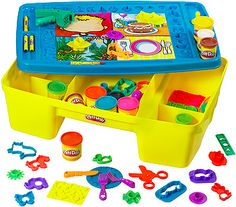 We got Brynn this Play Doh set for her birthday and she plays with it all the time.... Mommy and Daddy like to play with it too : S