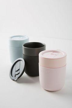W & P Porter Keramik-Reisebecher - -
