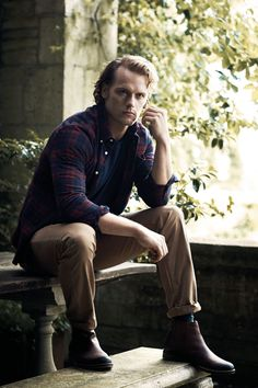 Sam Heughan for Barbour | GQ UK Oct. 2016