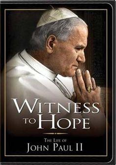Witness to Hope - St John Paul II. Astonishing beauty reviewed here … http://corjesusacratissimum.org/2010/08/dvd-review-witness-to-hope/