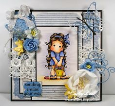Cathy's Creative Place: Magnolia-licious Challenge - Lace