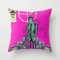 Throw Pillows by Alexis Ziritt, for only the raddest of couches.