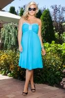 Women's Plus Size Cover Ups - Always For Me Cover Bandeau Dress Style #2117 - Sizes 1X-3X - JUST ARRIVED