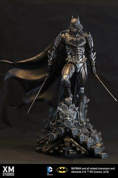 XM Studios Batman Statue IN STOCK ( Sideshow Collectibles, Kotobukiya, Prime One ), Toys & Games, Bricks & Figurines on Carousell Batman Y Superman, Batman Ninja, Batman Art, Batman Robin, Batman Kunst, Univers Dc, Arte Dc Comics, Batman Universe, 3d Prints