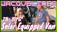Jacquelines Van Build Interview | 200w Solar Chrysler Town & Country