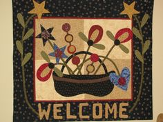 welcome! a Pat Sloan pattern