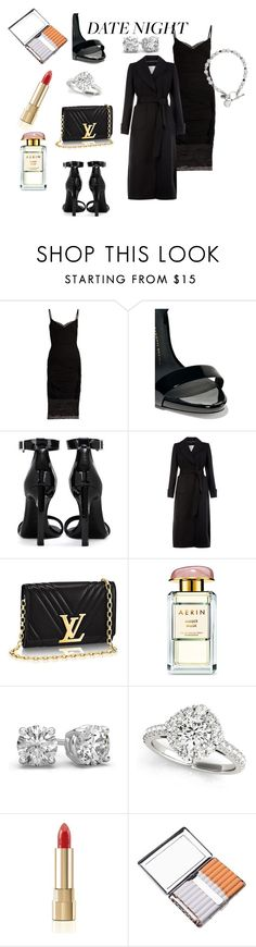 """The simple way is the sexiest"" by carriebradshaw-ii on Polyvore featuring Versace, Giuseppe Zanotti, Yves Saint Laurent, Monsoon, AERIN and Dolce&Gabbana"