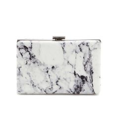 Balenciaga Printed Leather Box Clutch- dang I wish I had the money to blow on this coolness!!!  You Only Need to Wear These 5 Outfits This Summer via @WhoWhatWear