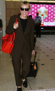 Cate Blanchett in the Charles Blazer and Woodstock Pant