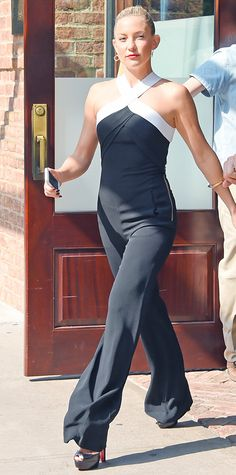 Look of the Day - July 22, 2014 - Kate Hudson in Roland Mouret from #InStyle