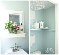 powder room color