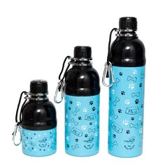 New range of Long Paws Blue Friend Pet Water Bottles, in & Pet Water Bottle, Water Bottles, Reflective Dog Collars, Rope Leash, Dog Activities, Outdoor Dog, Dog Accessories, Dog Walking, Tumblers