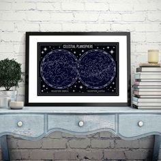 """Celestial Planisphere Map Canvas Poster Prints Geometric Minimalist Constellation Wall Art Pictures Painting Home Wall Decor"" Map Canvas, Canvas Poster, Canvas Wall Art, Wall Art Prints, Poster Prints, Geometric Poster, Geometric Painting, Geometric Wall Art, Abstract Art"