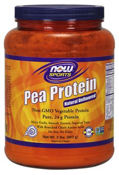 Pea Protein Natural Unflavored Powder