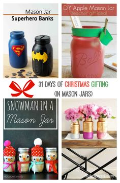 31 Days of Christmas Gifting (in Mason Jars) 31 Mason Jar gift ideas to pump up your DIY easily and on point this year. These gifts in a jar are great Christmas Gift. Pretty Christmas Trees, Great Christmas Gifts, Christmas Crafts For Kids, Diy Christmas Ornaments, Holiday Crafts, Christmas Ideas, Mason Jar Gifts, Mason Jar Diy, Apple Mason Jar