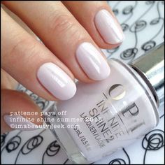 OPI Patience Pays Off – Infinite Shine 2015