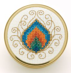 free cross stitch chart peacock