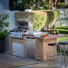 bull bbq grill island hayneedle in outdoor kitchen barbecue How to Build Outdoor Kitchen with Simple Designs? Small Outdoor Kitchens, Build Outdoor Kitchen, Backyard Kitchen, Outdoor Kitchen Design, Outdoor Cooking, Backyard Patio, Kitchen Rustic, Outdoor Dining, Backyard Landscaping
