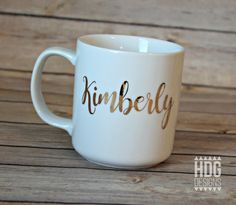 Personalized Coffee Mug  Personalized Coffee Cup  by HDGdesigns
