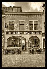 De Witte Ballons, Lijnmarkt Utrecht  1968