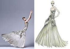 versace fashion illustration - Google zoeken